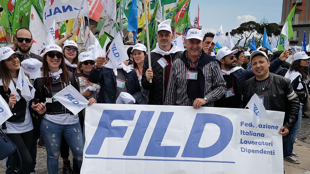 La FILD presente a Napoli in piazza Plebiscito
