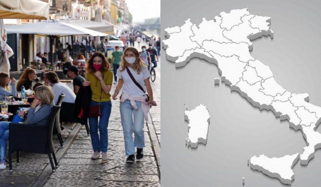 Da domani tutta l'Italia sarà in zona bianca